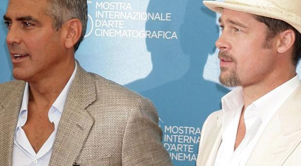 Brad Pitt and George Clooney will star together on stage in protest play 8