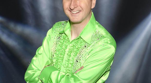 Andy Whyment has been voted off ITV's Dancing On Ice