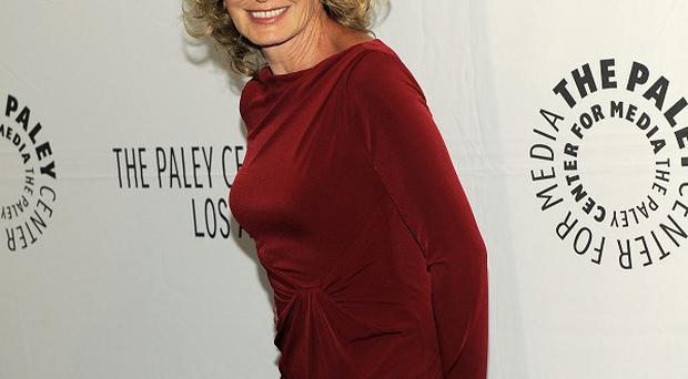 Jessica Lange talked about her hit show American Horror Story at PaleyFest 2012