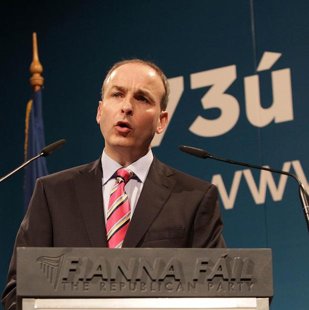 Fianna Fail leader Micheal Martin has admitted his party made mistakes and that he was sorry for that