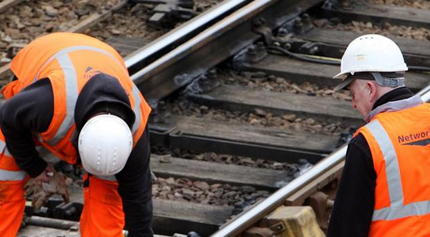 Rail passengers will be hit with a series of disruptions over the Easter period