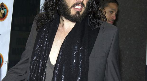 Russell Brand was one of the British stars at the latest Secret Policeman's Ball in New York