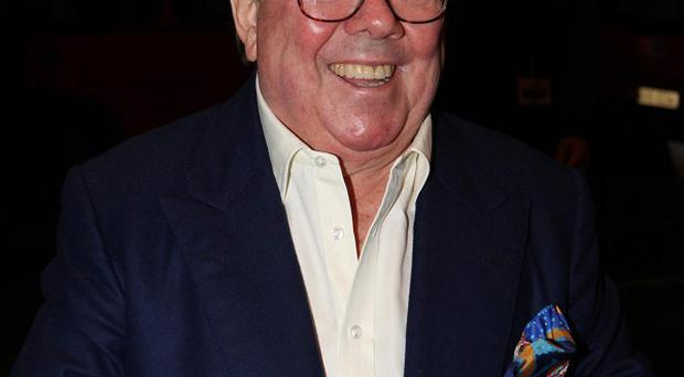 Ronnie Corbett has been describing his visit to the Priory