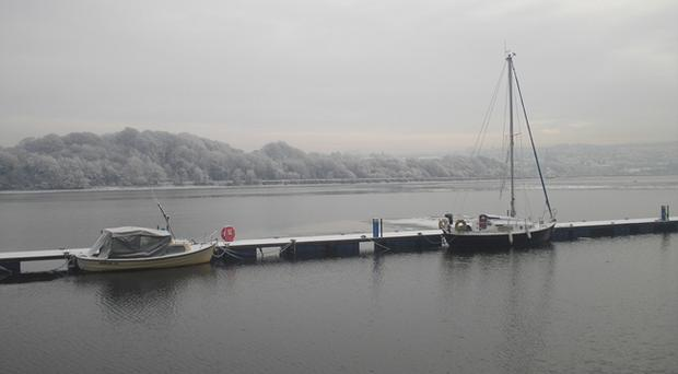 River Foyle, Derry. Photo by John Gallagher