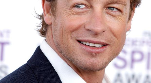 Simon Baker is heading for the big screen again in a romantic comedy