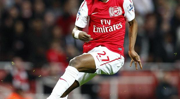 Gervinho is also likely to start as Arsenal try to overturn a 4-0 deficit