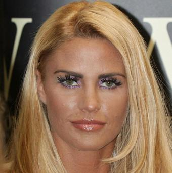 Katie Price said she is recording a new album with Dane Bowers