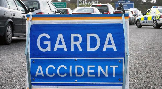 A woman has died in a single vehicle collision on the N63 near Corofin, Co Galway