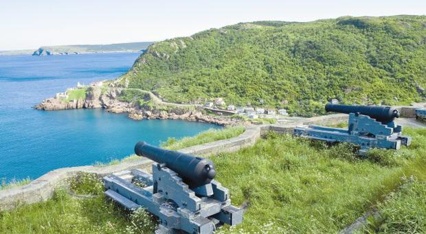 Cannons on Signal Hill, St John's