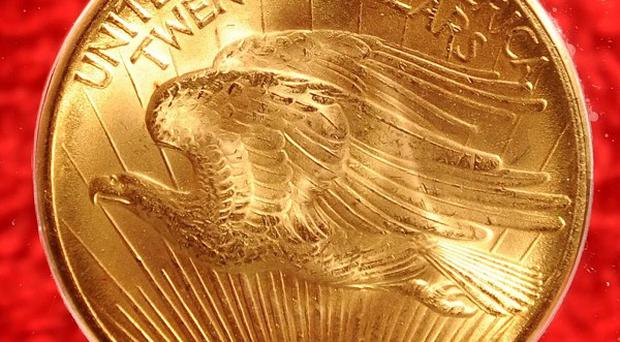 A 1933 Double Eagle coin will go on show at the Irish Museum of Modern Art in the Royal Hospital Kilmainham