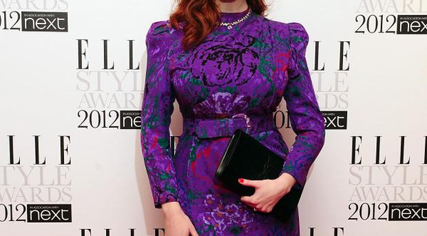 Christina Hendricks' personal photographs have appeared on the internet