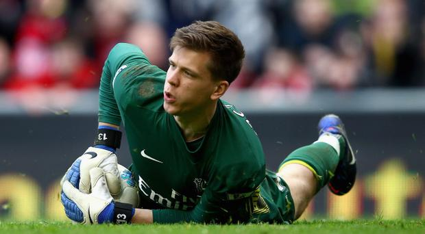 <b>Wojciech Szczesny - 7</b><br /> Got his angles right to stop a close-range effort from Antonio Nocerino with 15 minutes left, but his distribution was sometimes poor, putting his defence under unnecessary pressure