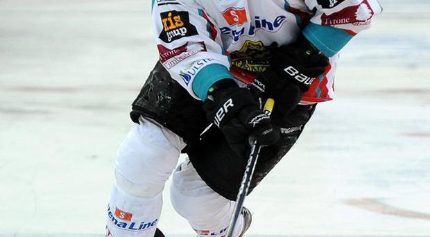 Treble yell: Jeremy Rebek is hoping to lead the Belfast Giants to Challenge Cup, Elite League and Play-off glory