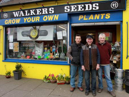 Walkers Seeds and Paints, 90-94 Frances Street, Newtownards