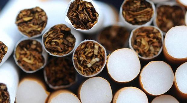 Newtownabbey has come top of a list of towns where the most illegal cigarettes are smoked