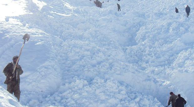 At least 47 people have been killed in a weekend avalanche in the north east of Afghanistan (AP)