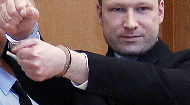 Anders Behring Breivik has been indicted on terror charges (Scanpix)