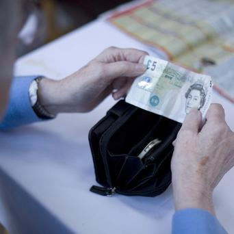 The value of final salary pension schemes has been reduced by 90 billion pounds due to quantitative easing