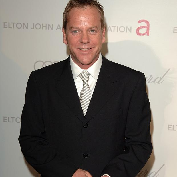 Kiefer Sutherland says his new TV drama resonated with him as a dad