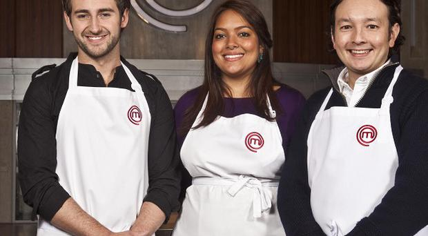 Tom Rennolds, Shelina Permalloo and Andrew Kojima have made it into the MasterChef final
