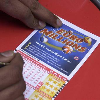 The winner of a 22 million pound lottery jackpot has not yet come forward