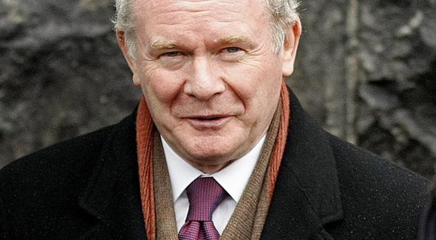 Deputy First Minister Martin McGuinness says he would like to see a single football team represent all Ireland