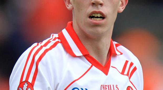 Injury blow: Michael Bateson will now be missing for Derry