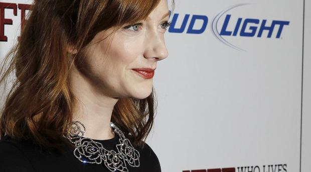 Judy Greer says it's hard to stay in touch with film co-stars once shooting ends