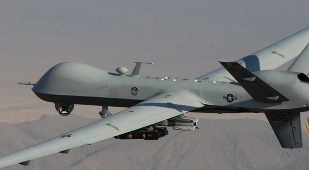 CIA drone strikes inside Pakistan are one of the main sticking points in relations between Washington and Islamabad (AP Photo/Lt Col. Leslie Pratt, US Air Force)