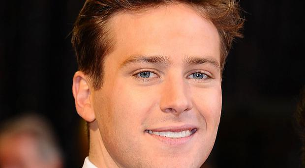 Armie Hammer is having a blast working on The Lone Ranger