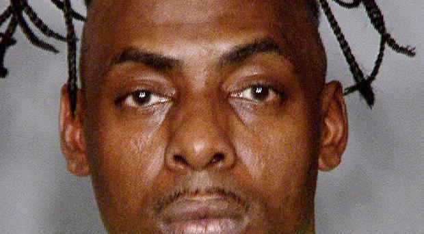 Coolio was arrested in Las Vegas on a warrant charging him with failure to appear in court two years ago (AP/LVMPD)