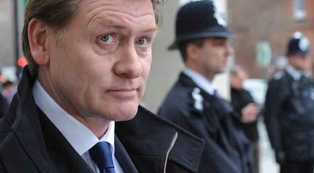 Eric Joyce MP leaves Westminster Magistrates' Court