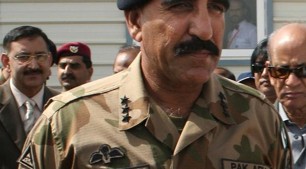 Lt Gen Zaheerul Islam has been appointed as Pakistan's new head of intelligence (AP/Shakil Adil)