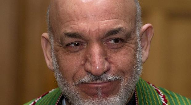 Afghan president Hamid Karzai initially opposed sending prisoners from Guantanamo Bay to Qatar instead of home to Afghanistan