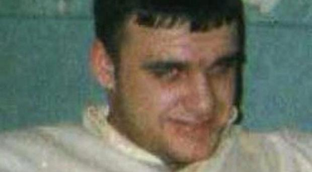Christopher Mackin was shot in Belfast city centre (PA/PSNI)
