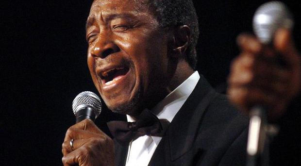 Jimmy Ellis, of The Trammps, sang the refrain Burn, baby burn! from the hit Disco Inferno (AP)