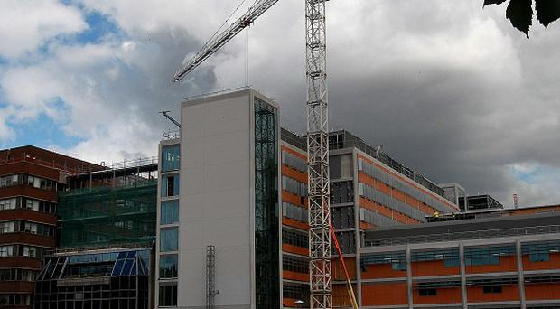 The National Children's Hospital was supposed to be built on the site of the Mater Hospital in Dublin