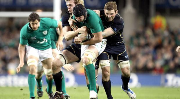Stephen Ferris knows Ireland will have to be at the best when they face England on Saturday