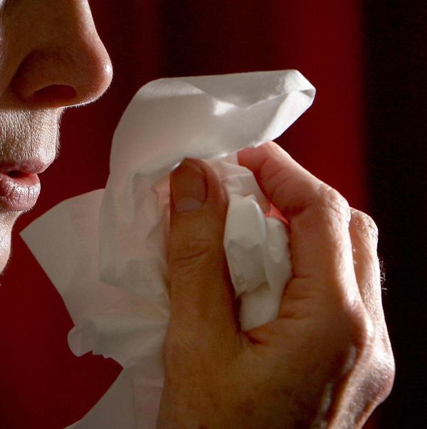 Arizona-native thought the runny nose was the result of allergies