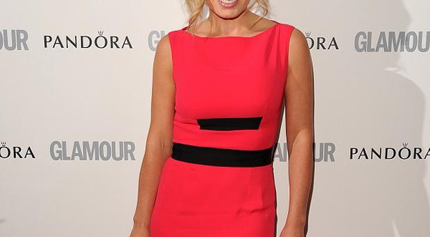 Katherine Jenkins has been rehearsing for Dancing With The Stars in London