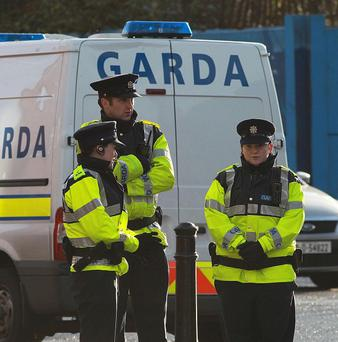 Gardai are investigating after a man was stabbed at a house in Dundalk