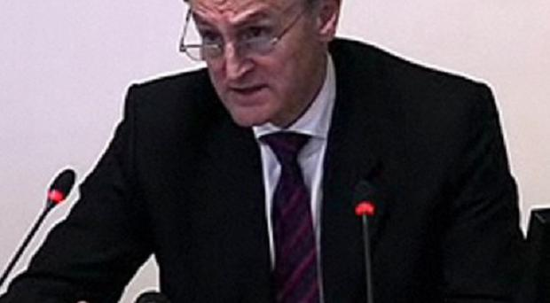 Sir Denis O'Connor gives evidence at the Leveson Inquiry