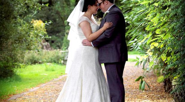 Michael and Catherine McKay after tying the knot <p><b>To send us your Wedding Pics <a href=