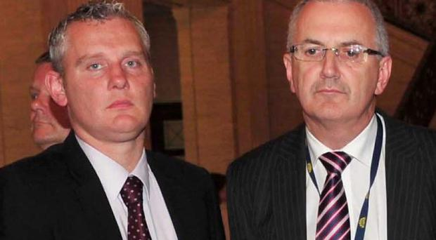 John McCallister (left) and Danny Kennedy are both now in the running to be the next leader of the Ulster Unionist Party