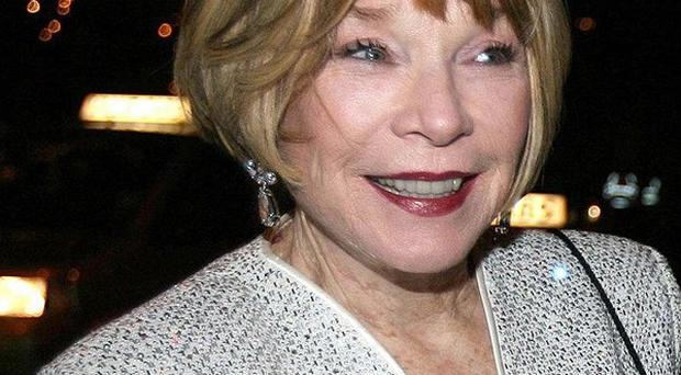 Shirley MacLaine is looking forward to working with Dame Maggie Smith on Downton Abbey