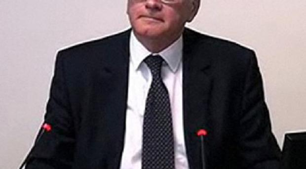 Dick Fedorcio gives evidence at the Leveson Inquiry