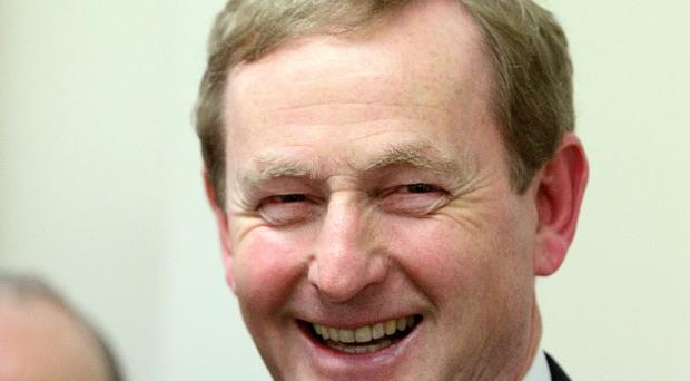 Taoiseach Enda Kenny said negotiations were under way to restructure the terms of Ireland's European debt