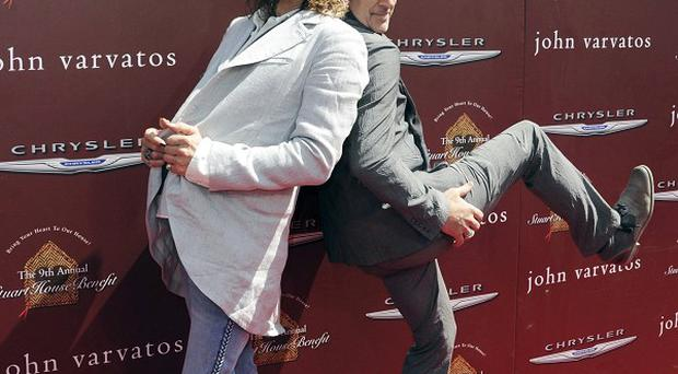 Steven Tyler, pictured with John Varvatos, says he has big romantic plans for his wedding