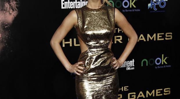 Jennifer Lawrence looked stunning at the world premiere of The Hunger Games