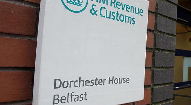 Customs officers investigating money laundering have arrested 13 men and a woman